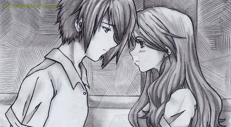 Dibujos Animados Chiodos Amor Hermoso Lápiz Wwwperfectoimagenescom