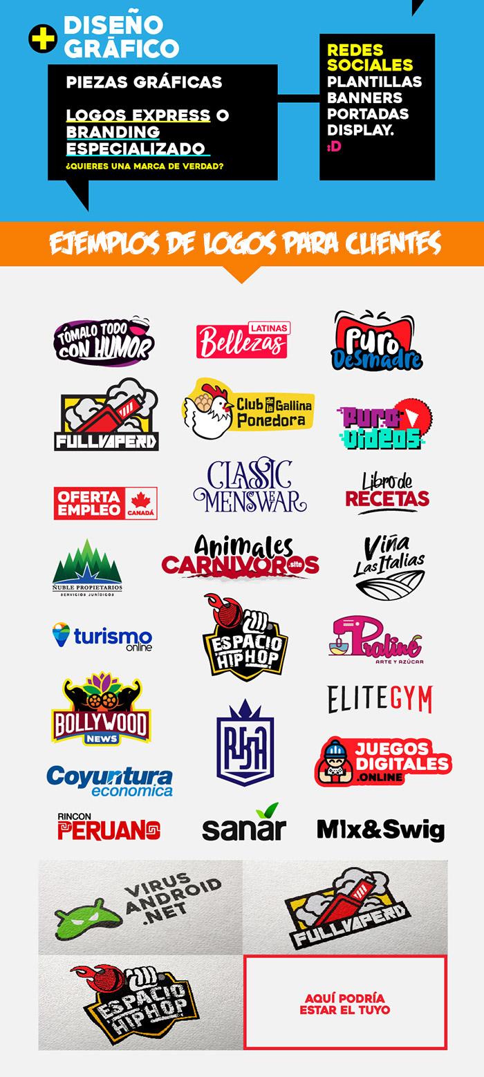 diseño grafico creacion de logos