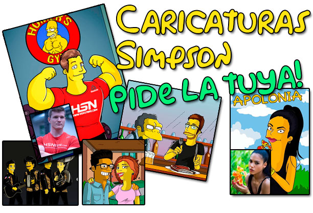 caricaturas simpson
